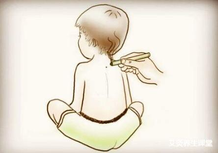 小孩艾灸身柱穴的好处与作用
